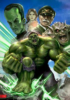 #Hulk #Fan #Art. (Marvel Superheroes - Fan Art) By: Mikeypetrov. ÅWESOMENESS!!!™ ÅÅÅ+