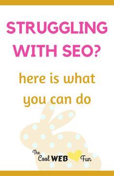 Seo for beginners and seo for bloggers. Search engine optimization is the only way to get search engine ranking. Know at http://www.coolwebfun.com/search-engine-optimization-tips/ #searchengineoptimizationblogger,