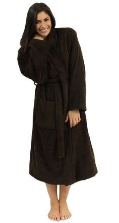 c40a90776e TowelSelections Turkish Terry Kimono Bathrobe - 100% Egyptian Cotton