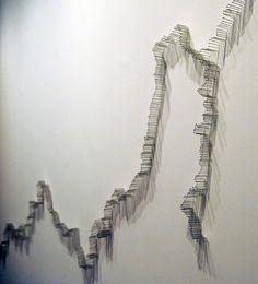 "Maya Lin's ""Pin River — Ohio (Allegheny & Monongahela)"""