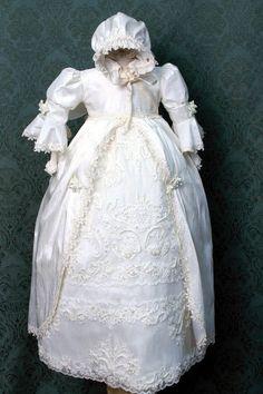 Victorian Christening Gowns | Christening Gown/Victorian Christening Gown/ White Christening Gown ...