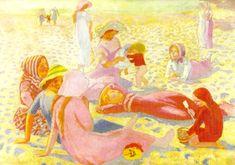 Plage au petit garçon, 1911 - Maurice Denis