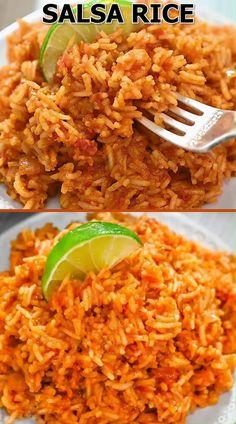 Amazing Food Videos, Tasty Videos, Mexican Food Recipes, Vegetarian Recipes, Cooking Recipes, Ricearoni Recipes, Cheesy Recipes, Easy Healthy Recipes, Spicy Salsa