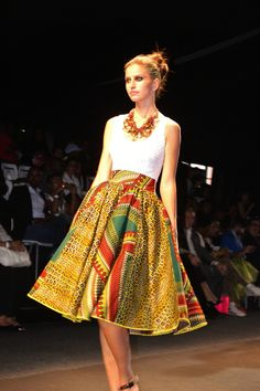 inspire Fashion Ideas for Styleator Concept with african style clothes with Africa Fashion International KIKI Clothing Collection African Attire, African Wear, African Women, African Dress, African Style, African Inspired Fashion, African Print Fashion, Africa Fashion, African Print Skirt