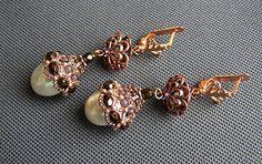 Pattern bijoux: Orecchini Beaded beads cups