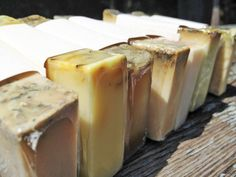 A year of soap! 12 bars of handmade soap, one for each month. An awesome gift for Christmas!