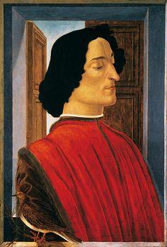 Sandro Botticelli: Portrait of Giuliano de' Medici | Flickr - Photo Sharing!