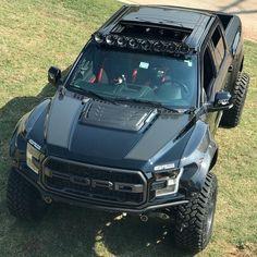 Ford Raptor Pick up Truck Custom Custom Pickup Trucks, Suv Trucks, Jeep Truck, Diesel Trucks, Lifted Trucks, Cool Trucks, Chevy Trucks, Ford Diesel, Truck Camping