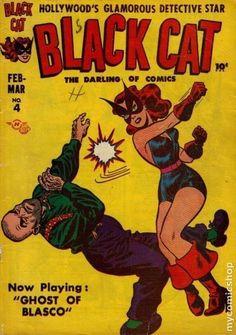 Black Cat 1950s
