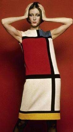 Character Suzy Kempis: Mondrian YSL 1965