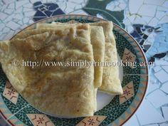 Channa Puri | Simply Trini Cooking #trinicooking