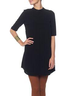 TWIGGY 2/4 DRESS - EXP, BLACK