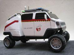 Fan-made Ghostbusters 2 vehicle