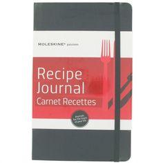 Moleskine black recipe journal