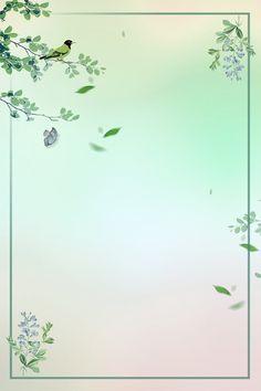 Flower Background Images, Green Leaf Background, Backgrounds Free, Flower Backgrounds, Background Templates, Background Patterns, Spring Cartoon, Aquatic Birds, Leaf Border