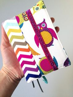 A personal favorite from my Etsy shop https://www.etsy.com/listing/226217173/owl-chevron-pocket-sized-nwt-bible-cover