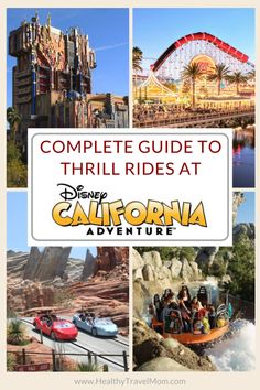 Planning a trip to the Disneyland Resort? Here is a complete guide to thrill rides and best rides for teens at Disney California Adventure Park in Anaheim, California. Best Family Vacation Destinations, Disney Vacations, Travel Destinations, Disneyland Tickets, Disneyland Resort, Disney California Adventure Park, Family Adventure, Anaheim California, California Travel