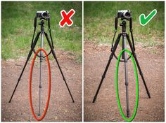 9 Tripod Mistakes That Could Be Ruining Your Images and Putting Your Camera at R. 9 Tripod Mistakes That Could Be Ruinin. Dslr Photography Tips, Photography Cheat Sheets, Photography Lessons, Photography For Beginners, Photography Equipment, Photography Backdrops, Light Photography, Photography Tutorials, Digital Photography