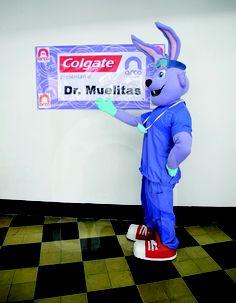 Colgate  presenta a su especialista #botargas #conejo #btl