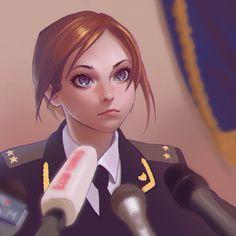 Amazing Illustrations by Ilya Kuvshinov |  R[G]-module: https://www.pinterest.com/pin/368943394455389047/