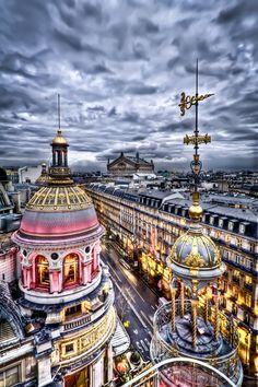 Printemps Haussemann by Jubu. Paris.