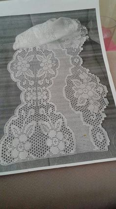 Crochet Doily Patterns, Crochet Borders, Filet Crochet, Crochet Doilies, Eminem, Lace Shorts, Elsa, Image, Women