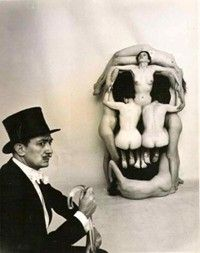 Skull by Salvador Dali