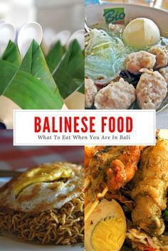 A guide to Balinese food - What To Eat When You Visit Bali | via www.rtwgirl.com