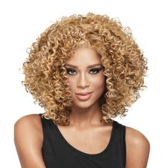 Short Kinky Curly Wig Fashion Women Afro Wig for American African Cosplay Wig UK Kinky Curly Wigs, Afro Wigs, Short Hair Wigs, Curly Afro, Curly Blonde, Short Blonde, Kinky Hair, Wig Styles, Curly Hair Styles