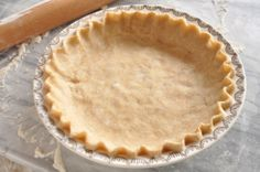 Another coconut oil pie crust