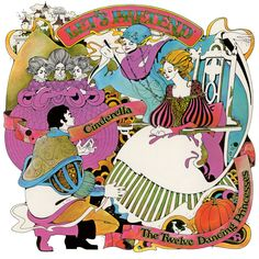Let's Pretend (Children's Records): Fairy Tales by David Chestnutt 1970 Cinderella and The Twelve Dancing Princesses