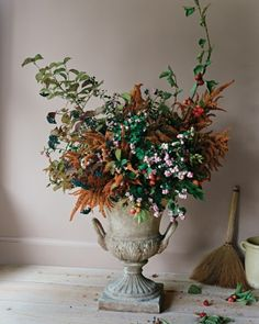 See the Garden Container Arrangement in our Fall Arrangements gallery
