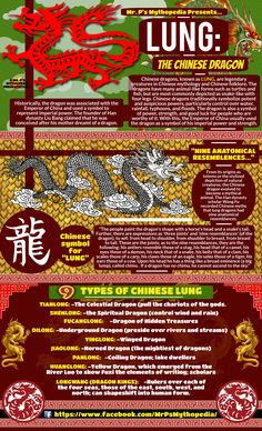 The mythological Chinese Dragon, the LUNG. World Mythology, Chinese Mythology, Greek Mythology, Dragon Mythology, Mythological Creatures, Fantasy Creatures, Mythical Creatures, Dragon Zodiac, Wicca