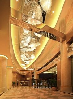 Kaina Plaza Hotel, Changzhou designed by GIL Art & Design Consultants