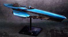 Erebi Miniatures: Firestorm Armada - Syndicate Spur Class Heavy Crui...