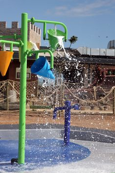Join us at Benguela Splash pad for a variety of fun water spraying, squirting and dumping amusements, so get the family ready for a wet and wild Summer experience. Wet And Wild, Splash Pad, Join, Park, Cool Stuff, Water, Summer, Gripe Water, Summer Time