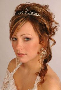 Hairstyles Bangs: Half Up Half Down Bridal Hairstyles for Long Hiar with Veil Half Up 2013 For short hair indian Half Up Half Down