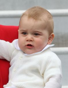 Adorable Prince George! April 7, 2014