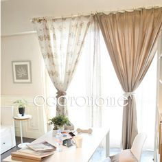 Fishtail Swag Curtain On Large Window Sewing Pinterest