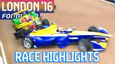 Rush Hour! Race Highlights - Visa London ePrix 2016 (Sun) - Formula E