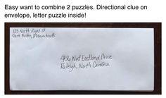 Directional lock clue.