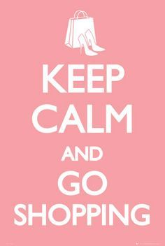 keep calm and go shopping! #online #shopping #winkelen #mode #fashion #aldoor #uitverkoop #sale
