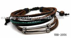 Tibetan Jewelry, Wholesale Leather Bracelets, Tribal Jewelry