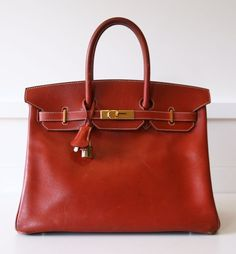 Women's Hermès satchel in red