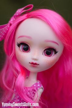 "OOAK ""Pink Bubblegum"" Full Custom Pullip"