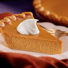 The best pumpkin pie in the whole world ~ my sister-in-law's recipe.