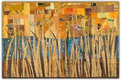 Judith Trager: Artist-Teacher-Curator --- Recent Work  love the pieced background