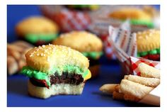 burger cup cakes!!! :))
