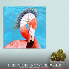 Discover «Flingomino», Exclusive Edition Canvas Print by Cora de Lang - From 55€ - Curioos