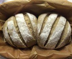 Rezept Roggenmischbrot wie vom Bäcker im Römertopf von ConnySinz - Rezept der Kategorie Brot & Brötchen